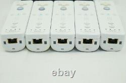 Entièrement Testé! Lot 20 Nintendo Wii Remote Plus Contrôleur Avec Nunchuck #3886