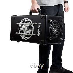 Frisby Fs-4300 Bluetooth Karaoke Pa System Avec Télécommande, Microphone Câblé