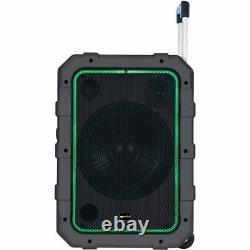 Gemini Mpa-2400 Portable Avec Haut-parleur Roulant Motorisé Bluetooth Télécommande