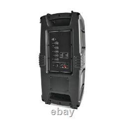 Haut-parleur Portable Sans Fil Bluetooth Fm Radio Remote Control Led Lights F1