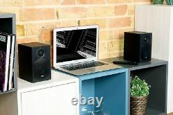 Haut-parleurs Bluetooth Hi-fi Active Tibo Plus 1.1 Avec Télécommande Rca/ Optic