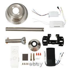 Led Plafond Ventilateur Lumière Bluetooth Haut-parleur Télécommande Warm & Cool Natural White