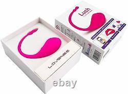 Lovense Bullet Vibrateur Bluetooth Télécommande Puissant Téléphone Intelligent Rose