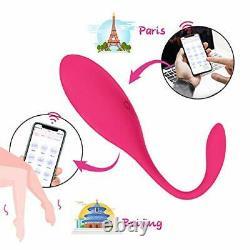 Lovense Lush Bullet Vibrateur Bluetooth Télécommande Téléphone Intelligent Rose Puissant