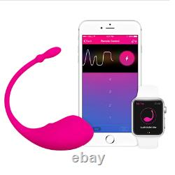 Lovense Lush Most Powerful G-spot Bullet Massager Bluetooth Remote Control App