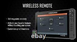 Lowrance Remote Controller Lr-1 Télécommande Bluetooth Pour Hds Live Et