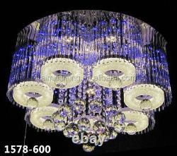 Lumière De Plafond Intérieure Moderne Avec Bluetooth, Mp3 Et Télécommande