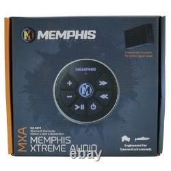 Memphis Audio Mxabtr Bluetooth Remote Controller Pour Les Appareils Bluetooth Nouveau
