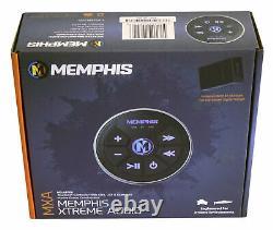 Memphis Audio Mxabtrx Marine Bluetooth Controller Aux/usb Pour Rzr/atv/utv/cart