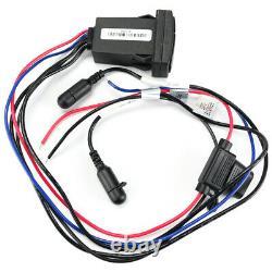 Mtx Audio Awbtsw Bluetooth Rocker Switch Récepteur / Contrôleur Universel Nouveau