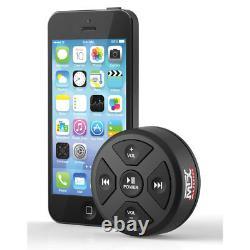 Mtx Mudbtrc Universal Boat Moto Bluetooth Audio Receiver & Remote Control