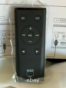 Nad D 7050 Amplificateur De Réseau Numérique Airplay Wifi Bluetooth Inc Télécommande