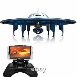 Ninja Wifi Rc Ufo Drone. Contrôle De L'application Avec Télécommande Bluetooth