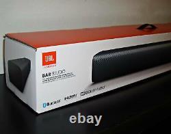 Nouveau Barre De Son Bluetooth Jbl Jblbbarsblkam Bar Studio 2.0-channel Avec Télécommande