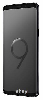 Nouveau Samsung Galaxy S9 Sm-g960u 64 Go Déverrouillé Noir Gsm T-mobile At & T Verizon