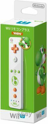 Nouvelle Marque Nintendo Wii Contrôleur À Distance Officiel Plus Yoshi Super Mario #685