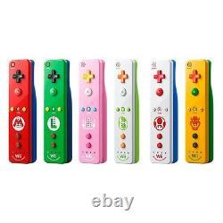 Nouvelle Télécommande Wii Plus Nintendo Wii U Couleurs Multiples