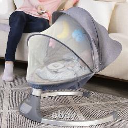 Nova Baby Swing Portable, 10 Berceuses, Bluetooth, Télécommande Jool Baby