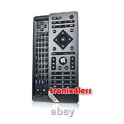 Original Vizio Vur103d Bluetooth 3d Hd Tv Remote Control Slide Out Clavier