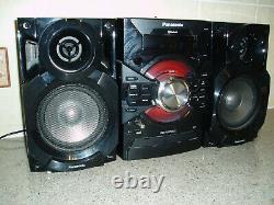 Panasonic Sa-akx18 Hifi Stereo System Avec Télécommande