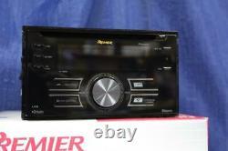 Pioneer Fh-p800bt In-dash Double Lecteur CD De Din Bluetooth Télécommande Usb