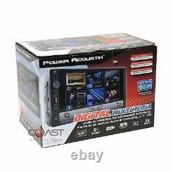 Power Acoustik 7 Usb Phonelink Stereo Dash Kit Harness Pour 05-07 Honda Odyssey