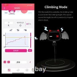 Qiui Little Devil App Remote Control Restraction Shock Collar Femme Homme Electric