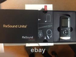 Resound Remote Control-2 Pour Les Prothèses Auditives Resound/beltone Avec Câble De Charge