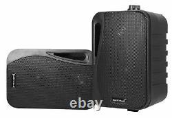 Rockville Blutube Tube Amplificateur/home Theater Bluetooth Receiver+(4) 4 Haut-parleurs