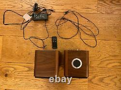Ruark Mr1 Haut-parleurs Bluetooth Riche Noyer Apt-x Télécommande Grand État