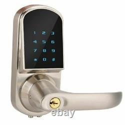 Smart Door Lock Bluetooth App Télécommande Mot De Passe Key Lock Pour La Sécurité À Domicile