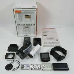 Sony Fdr-x3000r 4k Enregistreur Caméra Vidéo Kit De Télécommande Vue En Direct Du Japon