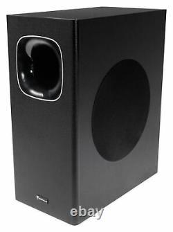 Soundbar+wireless Subwoofer Home Theater System Pour Samsung Nu6900 Télévision Tv