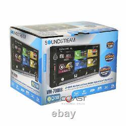 Soundstream 7 LCD Phonelink Stereo Dash Kit Harnais Pour 02-05 Dodge Ram Truck