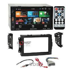 Soundstream 7 Phonelink Stereo Dash Kit Harness Pour 04-08 Chrysler Dodge Jeep