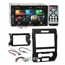 Soundstream Mirror Link Bluetooth Stereo Dash Kit Harnais Pour 09-12 Ford F-150