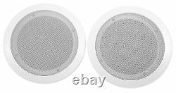 Technical Pro Dv4000 4000w Home Theater DVD Receiver+(4) 6.5 Haut-parleurs De Plafond