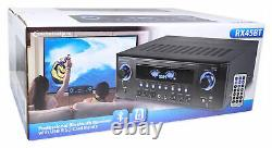 Technical Pro Rx45bt Home Theater Recepteur Bluetooth Usb + Dual 15 Band Equalizer