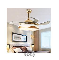 Télécommande 42ceiling Ventilateur Lights Avec Lampe Led Bluetooth Best Deal