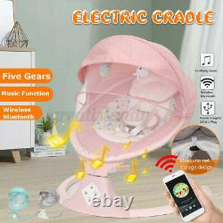 Télécommande Electric Baby Swing Cradle Infant Bluetooth Music Rocking Chair