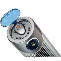 Thermostat Réglable Hauteur Oscillant 43 Po Avec Ventilateur Ozeri Tower. H