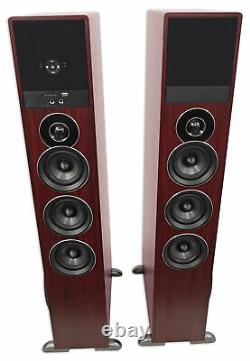 Tower Speaker Home Theater System Withsub For Vizio Série D Télévision Tv-wood