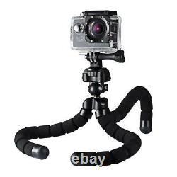 Trépied Appareil Photo Flexible Octopus Phone Stand Bluetooth Télécommande Film/vlog