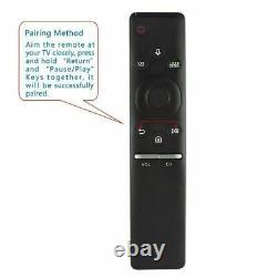 Véritable Samsung Bn59-01292a Bluetooth Télécommande Avec Micro Pour Smart Tv Nouveau