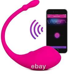 Vibrateur De Télécommande Bluetooth Le Plus Puissant De Lush, Osci, Domi, Nora & Ambi