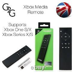 Xbox One S/x Series X/s Infrared Ir Media Remote Controller Dobe Tyx-691 Nouveau