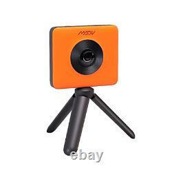 Xiaomi Madv 360 Caméra Avec Télécommande Bluetooth, Vidéo 4k, Photo 24mp, Wat