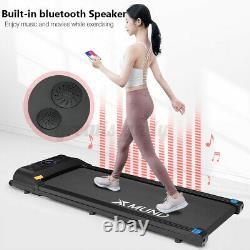 Xmund Électrique Tapis Roulant Portable Bluetooth Running Machine Télécommande Gym